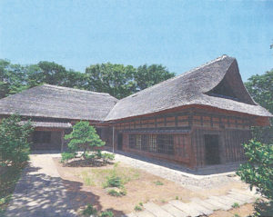 江戸中期の一之江名主屋敷
