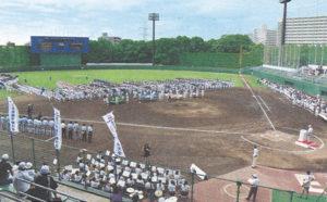 区民野球場